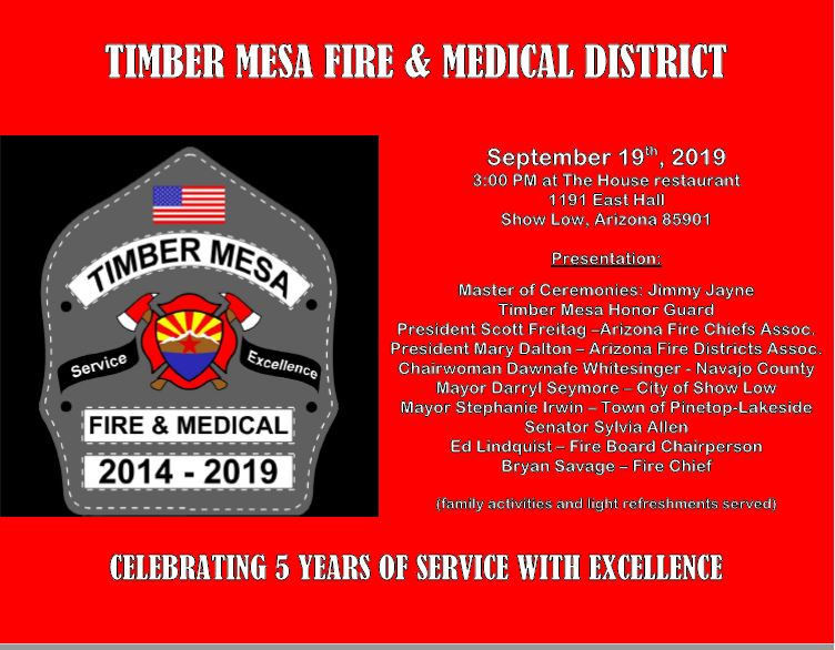 Timber Mesa Fire and Medical | Timber Mesa Fire and Medical